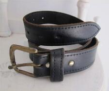 Unbranded Leather Solid Medium Width Belts for Women