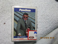 Penn State Legends All American Set Front Row Paterno  Factory Sealed 1992