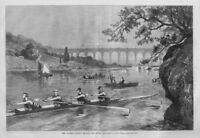 ROWING THE COLUMBIA COLLEGE UNIVERSITY REGATTA THE HENLEY FOUR OARS ROWING SPORT