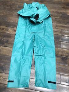 PVC Protective Reusable One-Piece Protective Suit Size XL