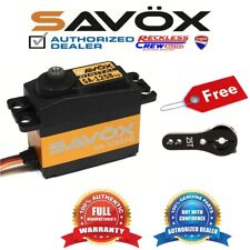 Savox SA-1258TG Coreless Digital Servo + Free Aluminium servo horn Black