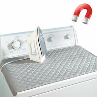 Magnetic Portable Mat Washer Ironing Cover Dryer Board Heat Resistant Blanket