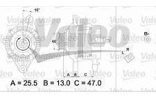 VALEO Alternador para HYUNDAI ATOS 437337