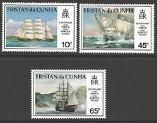 TRISTAN DA CUNHA SG535/7 1992 WRECK OF THE BARQUE ITALIA MNH