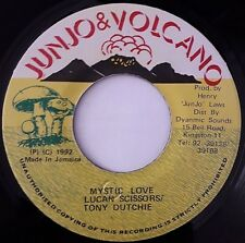 "LUCAN SCISSORS AND TONY DUTCHE ""MYSTIC LOVE""  (7"" JUNJO VOLCANO 1992)"