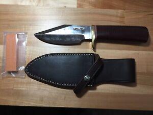 """Randall knives M-19, 5"""" Tool Steel Blade- Micarta (dark)"""