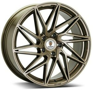 "18"" Stuttgart ST20 Alloy Wheels Bronze 5x112 fits VW Golf   Scirocco   Passat"