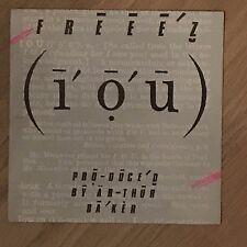 Vinyle 45 Tours - Freeez - I.O.U. - 105535 - EP Rpm