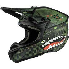 Oneal MX 2019 5 Series Warhawk Black Green Adult Motocross Dirt Bike Helmet