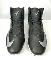 Men's Nike Zoom Code Elite 3/4 Football Cleats 603368-002 Black Size 18 New