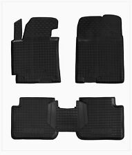 Hyundai ELANTRA MD 2011-14 Rubber Car Floor Mats All Weather Alfombrillas Goma