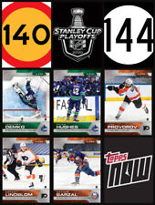 SCP140-SCP144 2020 NHL TOPPS NOW Hockey Sticker Pack Print Run 138 Only Made!