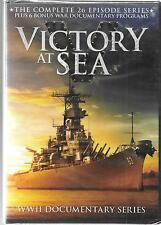 Millcreek Entertainment, WWII Victory At Sea Series, 26 Episodes Plus More, NEW