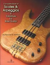 COMPLETE BOOK OF SCALES & ARPEGGIOS IN TAB Bass