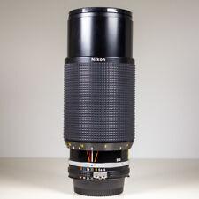 Nikon 80-200mm f/4 AiS Manual Focus Telephoto Lens Boxed