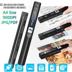 iScan01 900 dpi Dokumentenscanner A4 Größe LCD Display Scanner zum JPG/PDF
