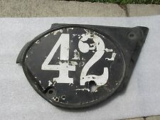 SUZUKI TM125 TM 125 RIGHT SIDE FRAME COVER RIGHT SIDE NUMBER COVER 1974   C1