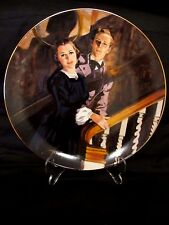 Gone With the Wind Collectible Plate MELANIE & ASHLEY Golden Anniversary Series