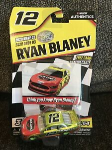 Nascar Authentics Liquid Color Chase Ryan Blaney Ford Mustang