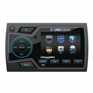 Soundstream MHU-32SXM Marine Boat UTV Digital Media Player Bluetooth SIRIUSXM