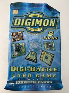 DIGIMON DIGI-BATTLE BOOSTER PACK Series 1 Edition 2000