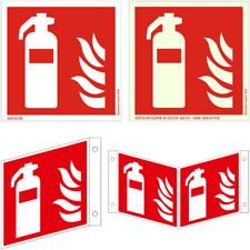 Feuerlöscher Schild 50 - 300 mm Brandschutzzeichen ASR A1.3, ISO 7010 Symbol