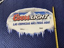 Coors Ligth Beer Tin Sign