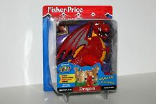 Fisher Price Great Adventures Dragon That Interacts with The Magic Castle