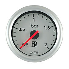 Smiths Telemetrix Fuel Pressure Gauge Mechanical 0-2 bar TFP1-3832-02