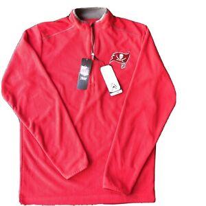 Tampa Bay Buccaneers NFL Antigua Glacier 1/4 Zip Pullover Jacket- Size Small NWT