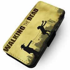 The Walking Dead Leather Mobile Phone Cases, Covers & Skins for Samsung