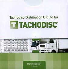 Tachodisc Drivers Analogue Tachograph Disc Checker, NEW Revised Version! (DCA5)