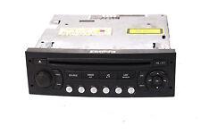 CD Autoradio Peugeot 307 206 Citroen Blaupunkt RD4 N1 Radio ohne Code