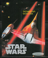 Souvenir sheet MNH STAR WARS movie cinema 1574/2000/ self adhesive stamp