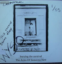 LP BURYING THE CARNIVAL--ARMS OF SOMEONE NEW RARE INDIE ELECTRONICA 1984