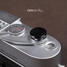 Black 16mm Soft Release Button For Leica M3 MP M8 M9 Fuji X100 X-PRO1 X10 Canon