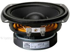 "4"" Paper Cone Foam Surround Replacement Speaker - Woofer 70 Watts, 8 Ohms"