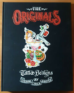 "Originals Vintage, Traditional Style Tattoo Flash Book 148 Sheets 12x16"" Loika"