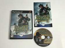 Medal of Honor: Frontline (Sony PlayStation 2, 2002) Complete Tested
