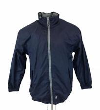 Vintage K-Way Plus Jacket Rain Coat Blue Retro 90s Large / XL Mens (tag says M)