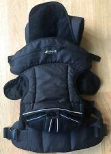 Hauck Babytrage 3-Way Carrier, Bauchtrage, schwarz , 3,5 bis 12kg, Neuwertig