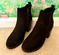 Ladies Black Boots From New Look Size 6 Wide Fit