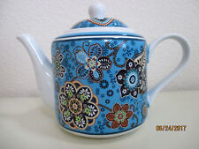 VERA BRADLEY TEA POT (BALI BLUE) RARE FIND & RETIRED