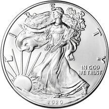 2020 American Silver Eagle 1 oz $1 - Bu
