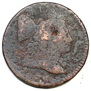 1795 Lettered Edge Liberty Cap Large Cent Coin 1c