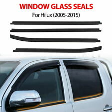 New Window Glass Seals Door Weather Strip For Toyota Hilux Double Cab 2005-2015