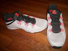 new womens nike zoom condition tr training shoes size 11 gray