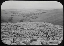 Glass Magic Lantern Slide GEOLOGY SURVEY NO1 C1890 PHOTO UK ?