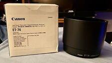 New CANON lens hood ET-74 for EF 70-200mm f/4L Lens