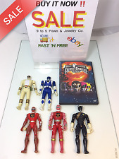 POWER RANGERS ACTION FIGURES MIGHTY MORPHIN DINO THUNDER WILD FORCE AND THE DVD